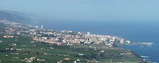 Vista sobre Puerto de la Cruz
