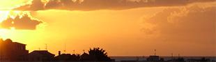 Puesta de sol Costa del Silencio